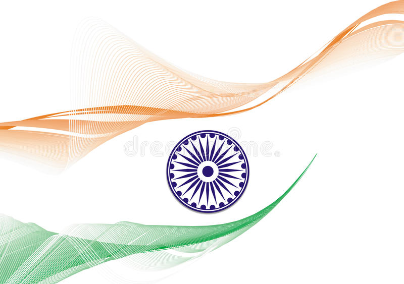 India flag vector illustration