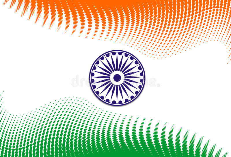Download India flag stock vector. Image of clip, nation, 26th - 12461897