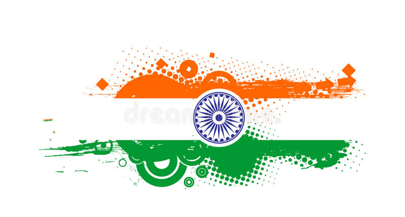 Download India flag stock vector. Image of line, internet, beautiful - 12462096