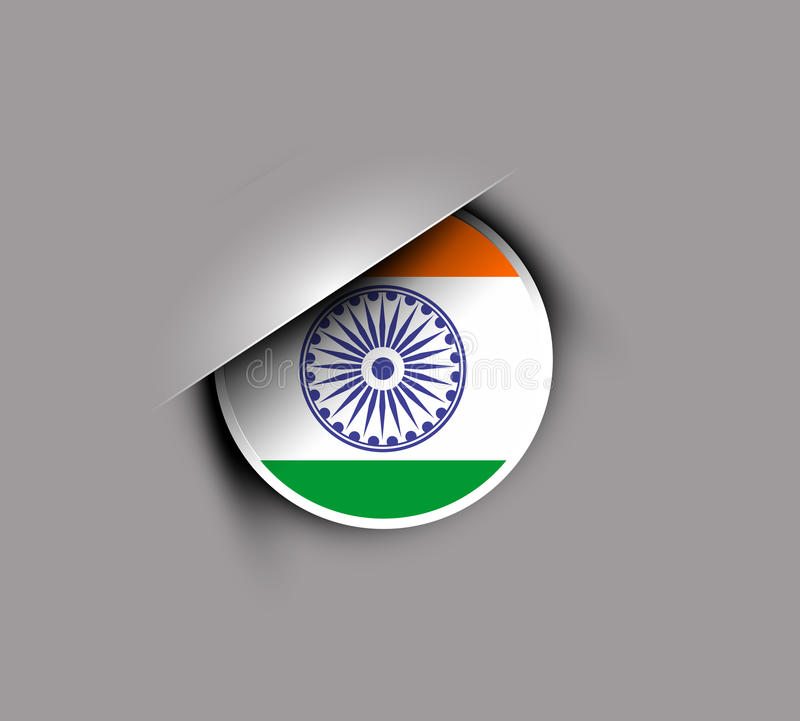 Download India flag stock vector. Illustration of indian, hindu - 23176100