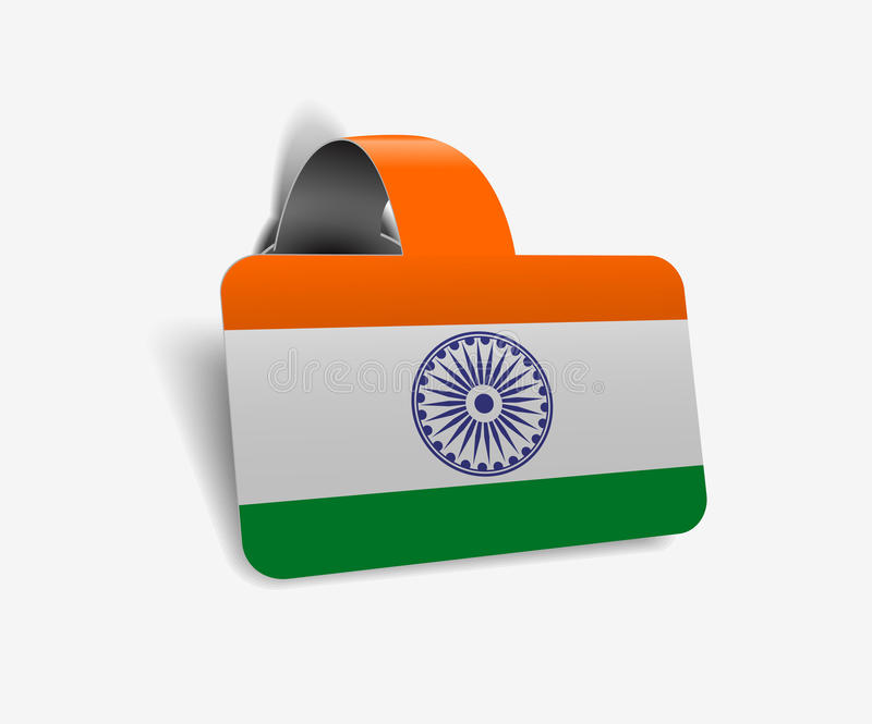 Download India Flag Stock Image - Image: 23176271