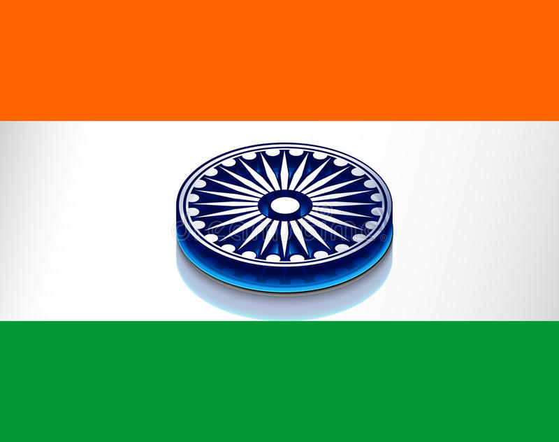 Download India Flag Stock Image - Image: 23176311
