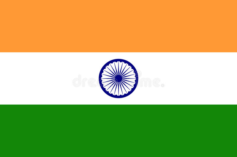 India flag stock photography