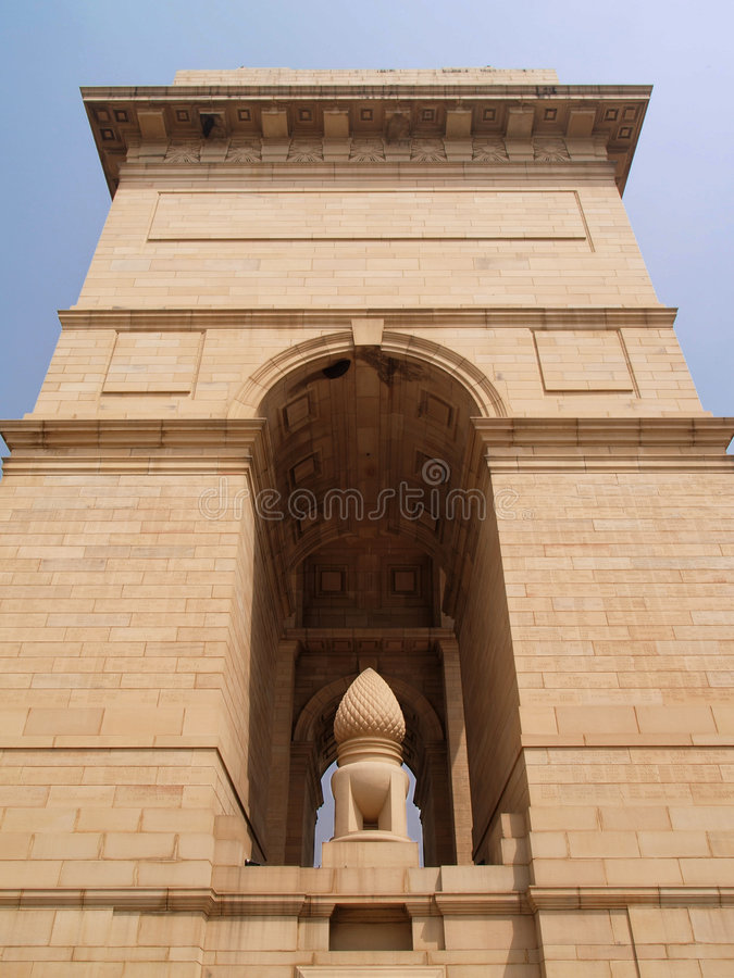 Free India Gate At New Delhi Royalty Free Stock Image - 6037696