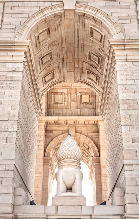 Download India Gate In Delhi Royalty Free Stock Images - Image: 25101009