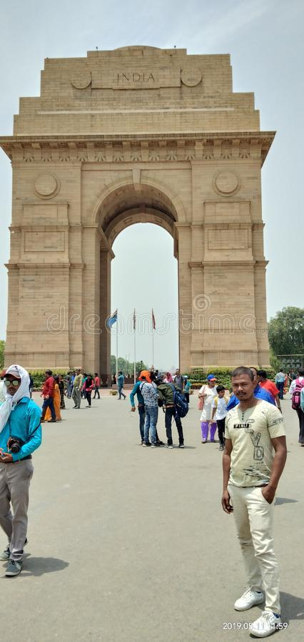 This is India gate stock illustration