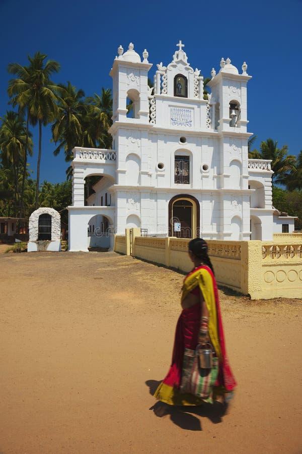 India - Goa - Anjuna stock image
