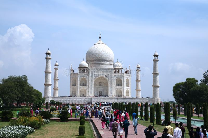 INDIA. In India, the great Taj Mahal Palace stock photo