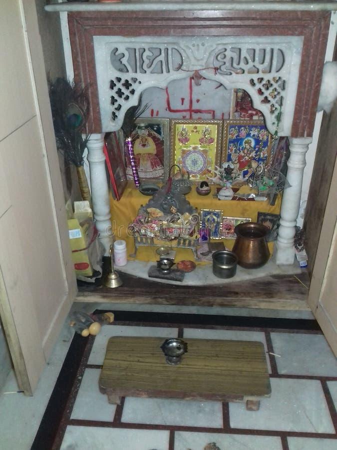 India& x27; hindischer Tempel s Gemeinschafts stockfotografie