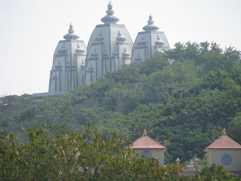 India. Holy Varanasi Ganga river. royalty free stock images