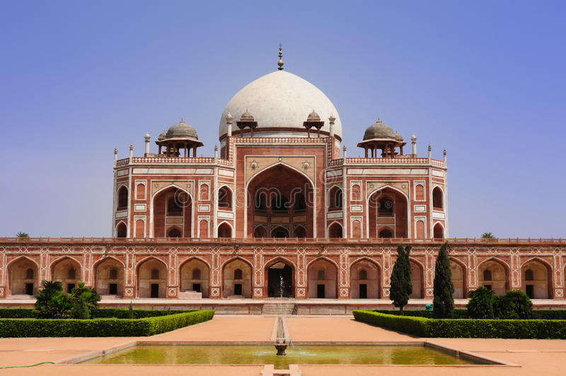 India - Humayuns tomb royalty free stock images