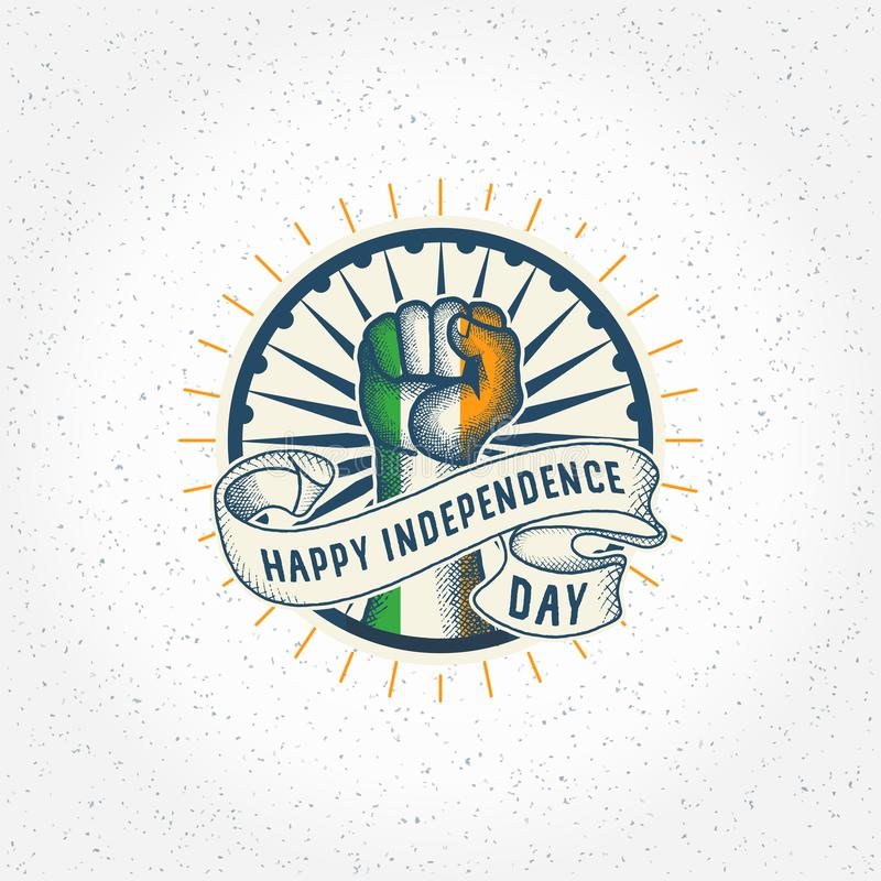 India independence day - vector royalty free stock images