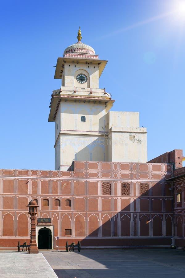 India. Jaipur. City Palace- Palace of the maharaja.  royalty free stock photos