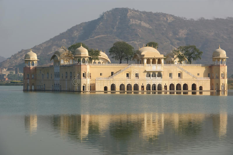 India, Jaipur. The palace Dzhal-Mahal - is. India, Jaipur, also popularly known as the Pink City, is the capital of the Indian state of Rajasthan. The palace royalty free stock image