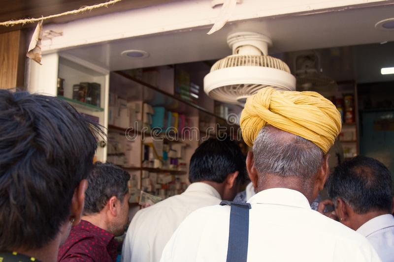 Indian Buyers And Sellers Of Dried Dates Editorial Stock
