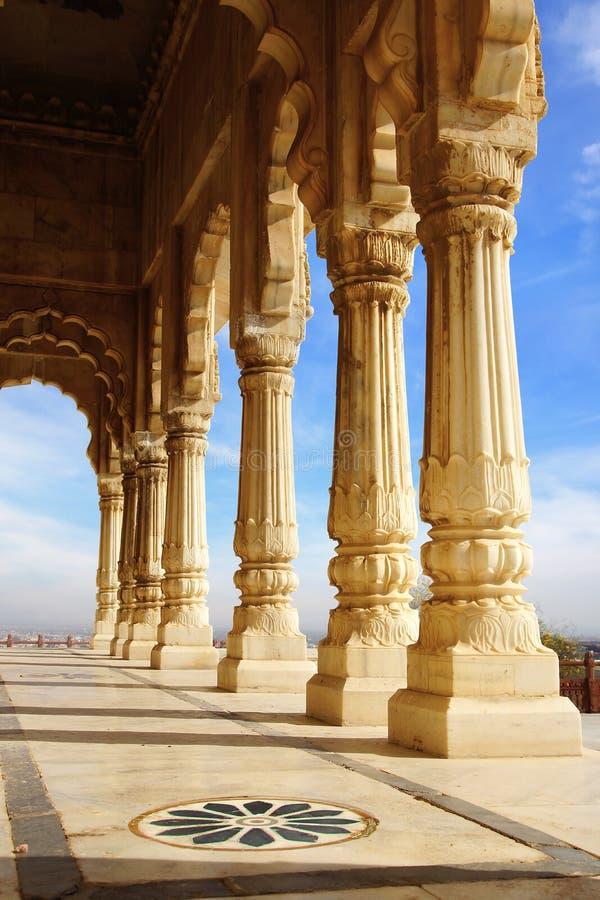 india jaswant jodhpur minnesmärkethada arkivbilder
