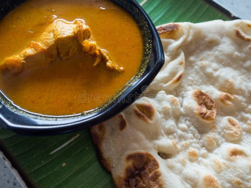 India jedzenie, mali ind w Singapore zdjęcie royalty free