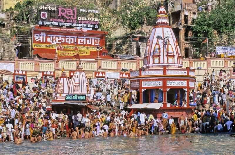 India Kumbh Mela fotografia de stock royalty free
