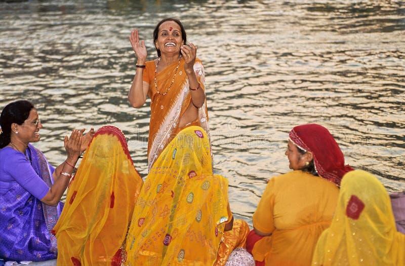 India Kumbh Mela imagem de stock