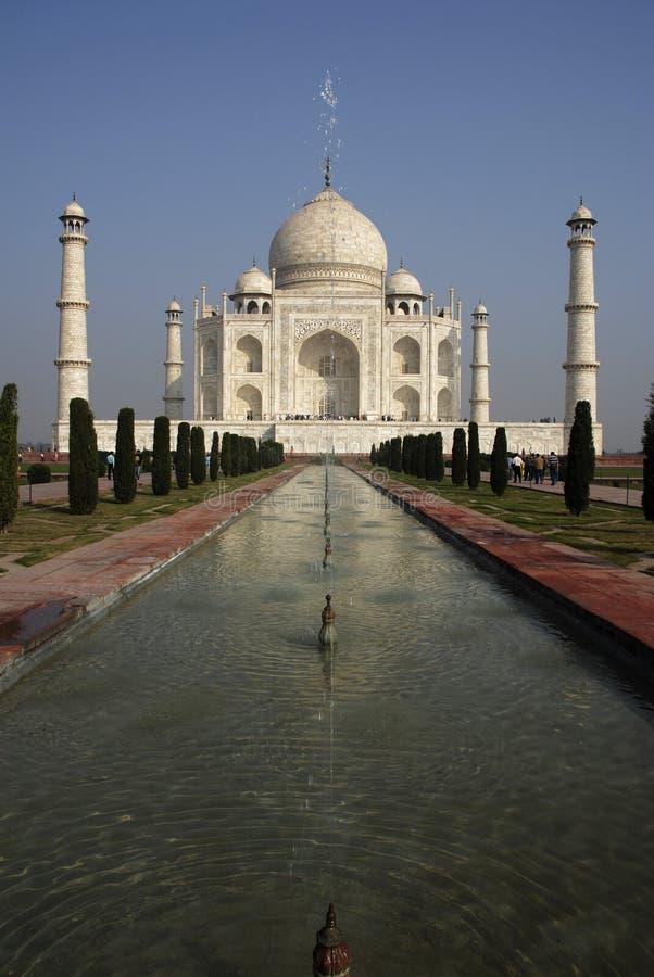 india mahal taj arkivfoton