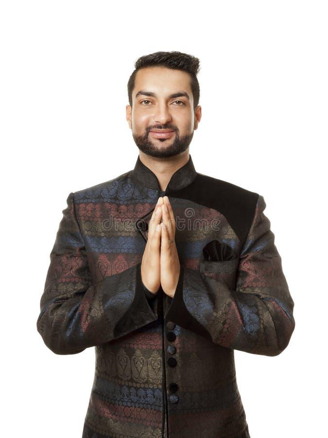 India man stock image