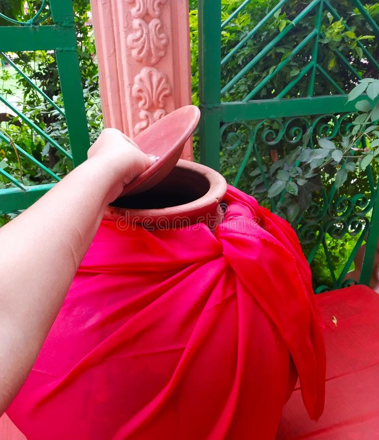 India matka water rishikesh ganges ganga peace pure yoga stock photography