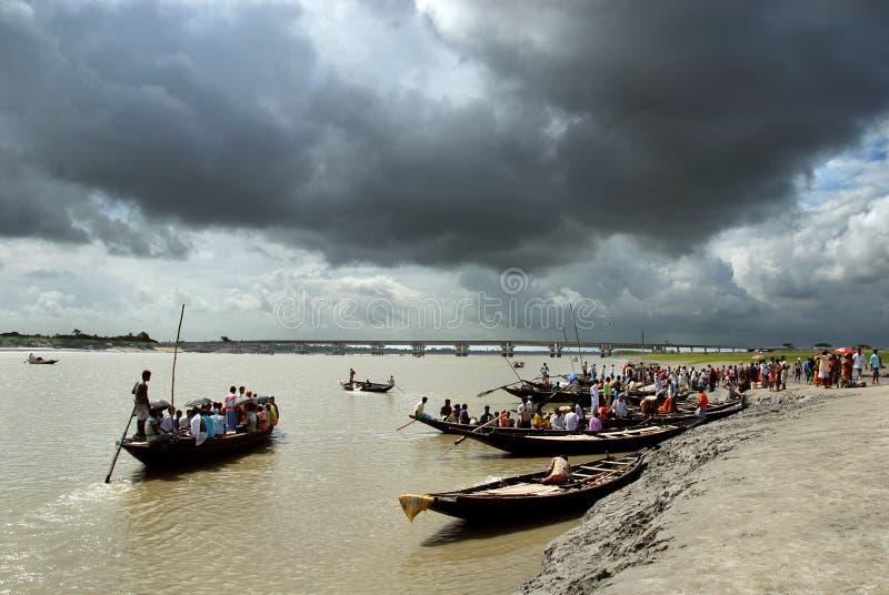 india monsoon arkivfoton