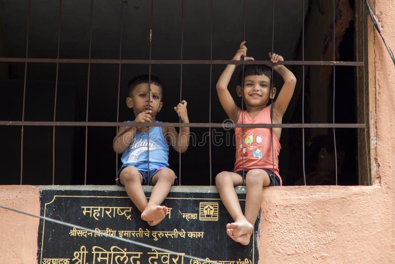 india mumbai royaltyfri bild