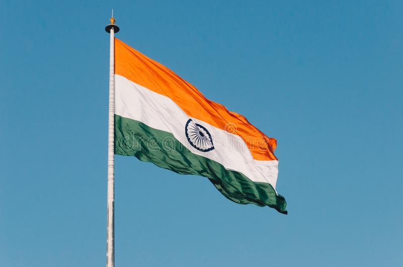 India national flag. India national, t, flag, respect, them stock images