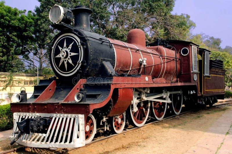 india old steam train στοκ εικόνες