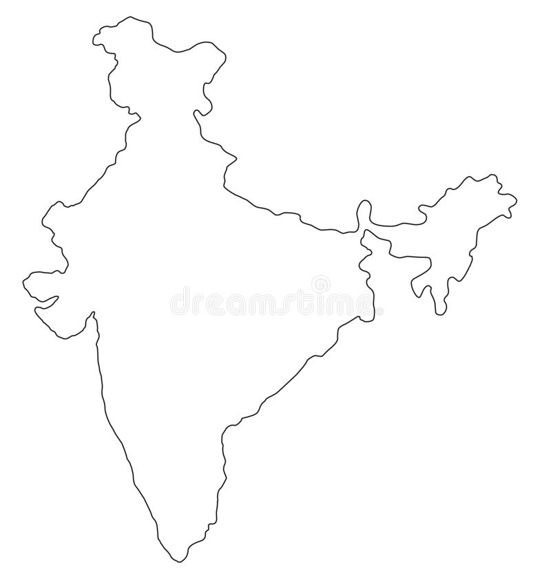 Outline Map India Stock Illustrations – 1,697 Outline Map ... on india map plan, india map perspective, india map black silhouette, india political map, india currency, india clip art, india country map, india map compare, india flag outline, india geography map, india and surrounding countries, india map icon, india culture, india map show, india map with rivers, india country outline, india map of, india map with cities, india map state, india map open,