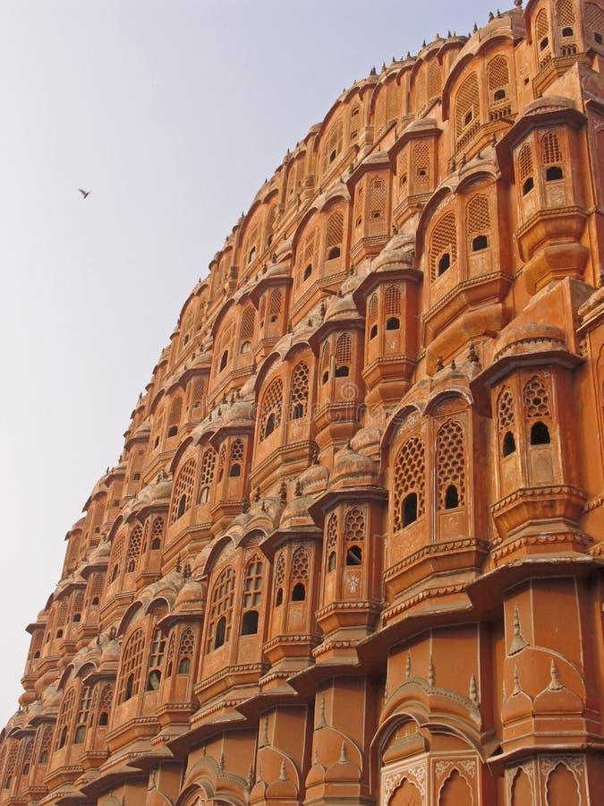 Download India - palácio dos ventos foto de stock. Imagem de sandstone - 111254
