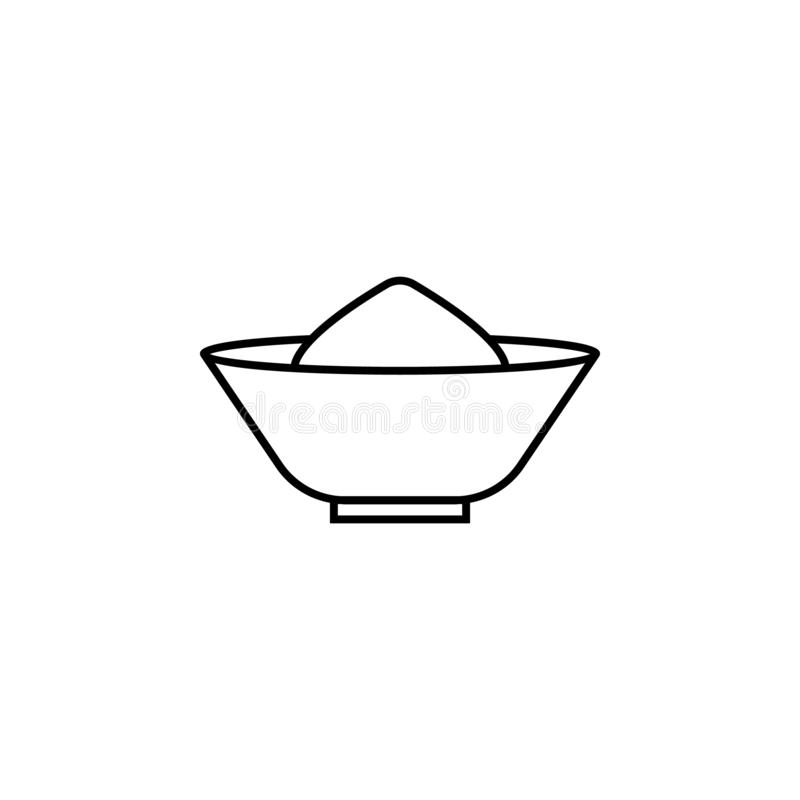 India, pikantności ikona Element India kultury ikona Cienka kreskowa ikona dla strona internetowa projekta i rozwoju, app rozwój  ilustracji