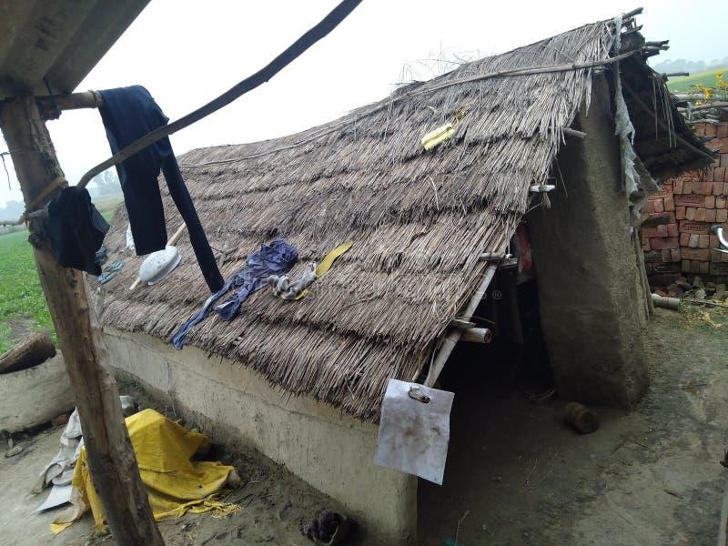 India pobre hogar jhopadi imagen de archivo libre de regalías