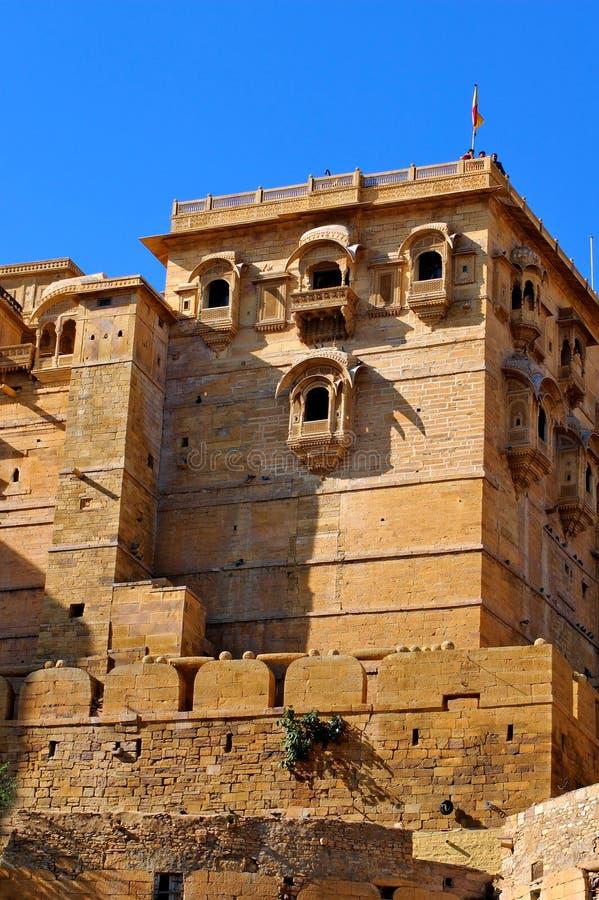 India, Rajasthan, Jaisalmer: Fort royalty free stock photo