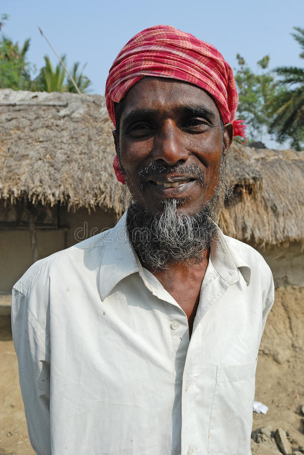 India Rural Man royalty free stock photo