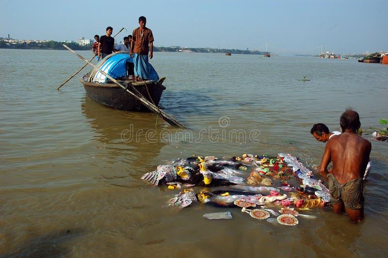 Download India's Clay Idols-Durga Festival Editorial Stock Photo - Image: 10452288