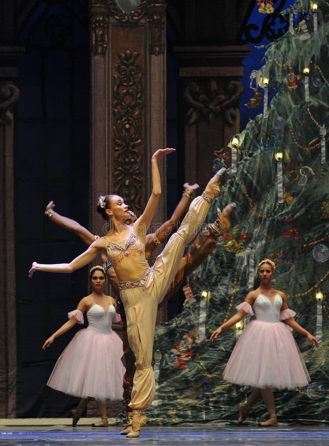 India Shiva- het het suikergoedkoninkrijk van het tweede handelings tweede gebied - de Balletnotekraker royalty-vrije stock fotografie