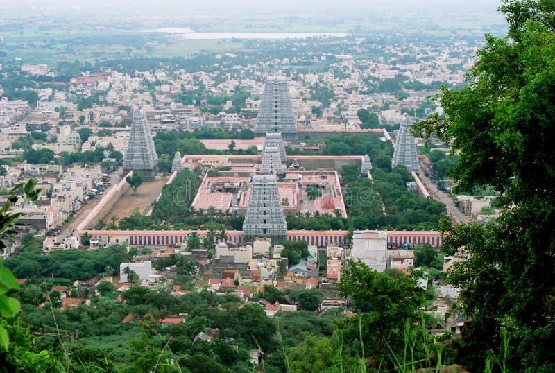 india shivatempel arkivbilder