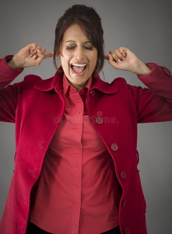 Download India?ska M?oda Kobieta Krzyczy W Frustraci Obraz Stock - Obraz złożonej z wyrażenie, etnocentryzm: 41950537