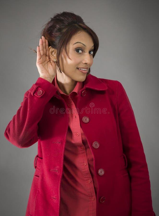 Download India?ska m?oda kobieta pr zdjęcie stock. Obraz złożonej z przód - 41950630