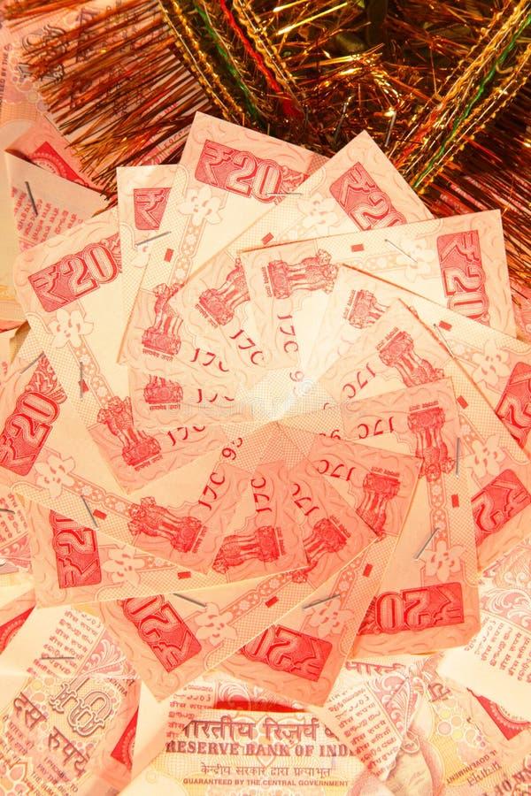 Download Indiańska waluta zdjęcie stock. Obraz złożonej z bankowość - 29456166