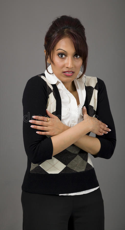Download Indiański Bizneswomanu Rozbijanie Obraz Stock - Obraz złożonej z portret, potomstwa: 41950699