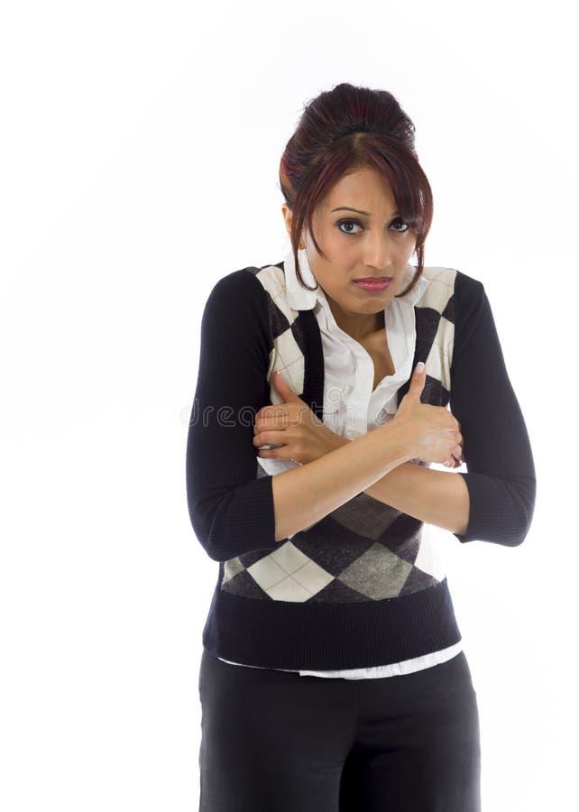 Download India?ski Bizneswomanu Rozbijanie Obraz Stock - Obraz złożonej z kolor, marznący: 41950907