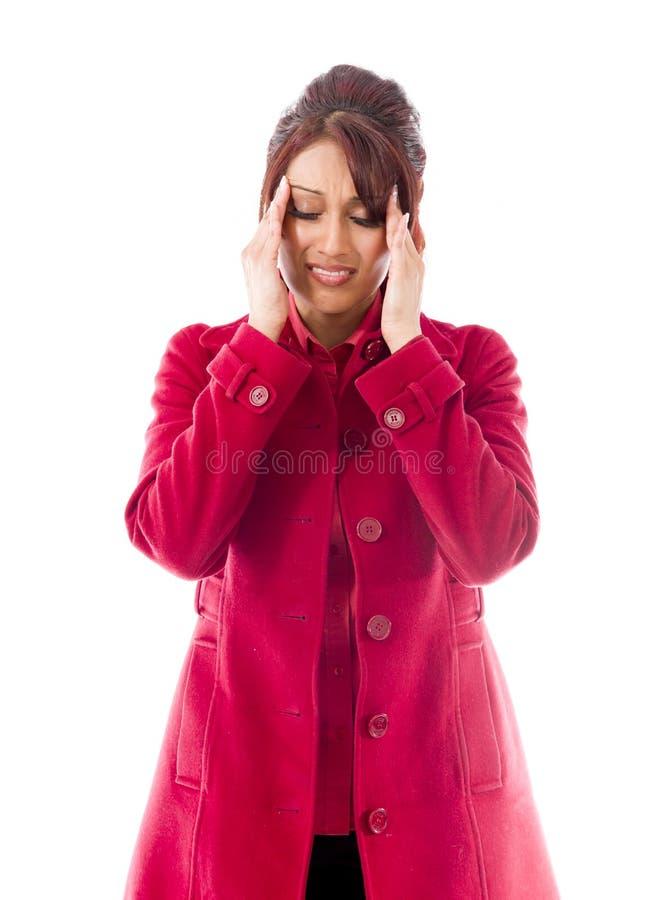 Download India?ski M?odej Kobiety Cierpienie Od Migreny Zdjęcie Stock - Obraz złożonej z etnocentryzm, niezrównoważenie: 41950450