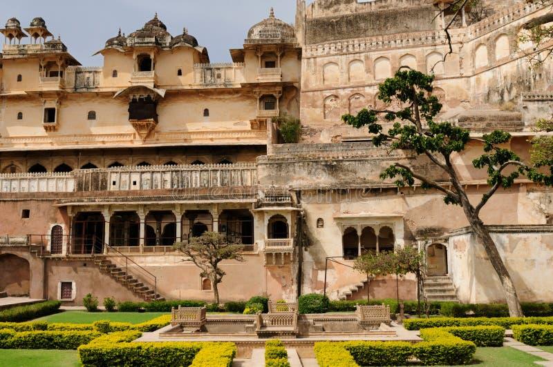india slott royaltyfria bilder