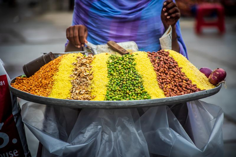 India street food traditional culture in jaipur. India royalty free stock photos