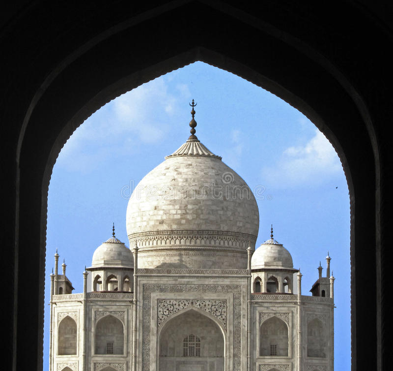 Download India,  Taj Mahal, Seventh Wonder Of The World Stock Image - Image: 23979401