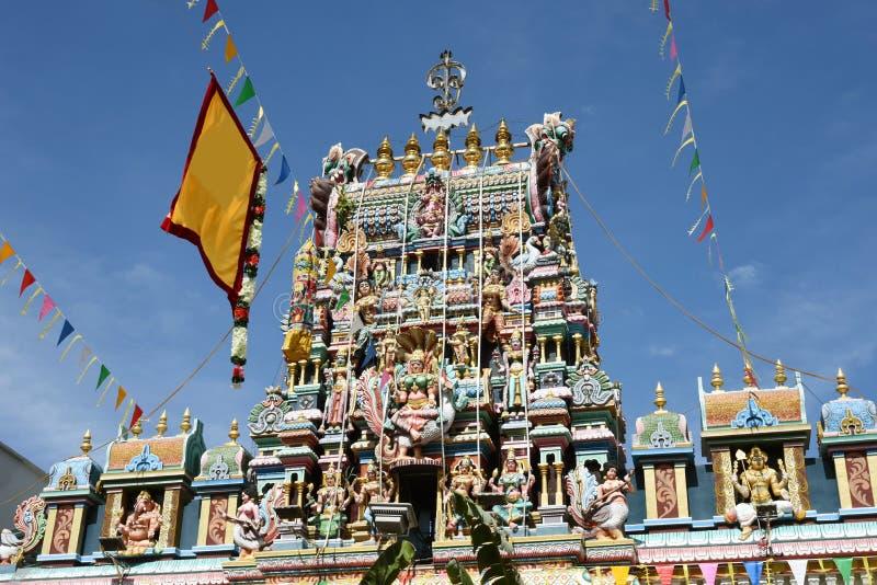 India temple. The Minakshi Sundareshvara Hindu Temple in Madurai in the Tamil Nadu region of Southern India royalty free stock photography