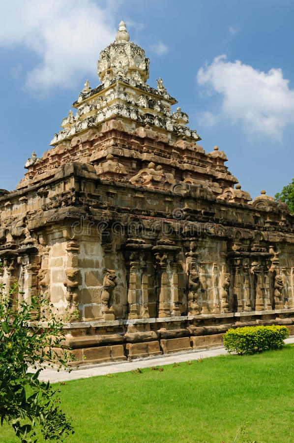 India - Vaikunta Perumal Temple royalty free stock images